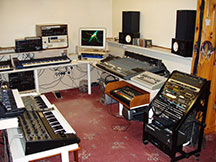 Photo inside Sound Cell Studios